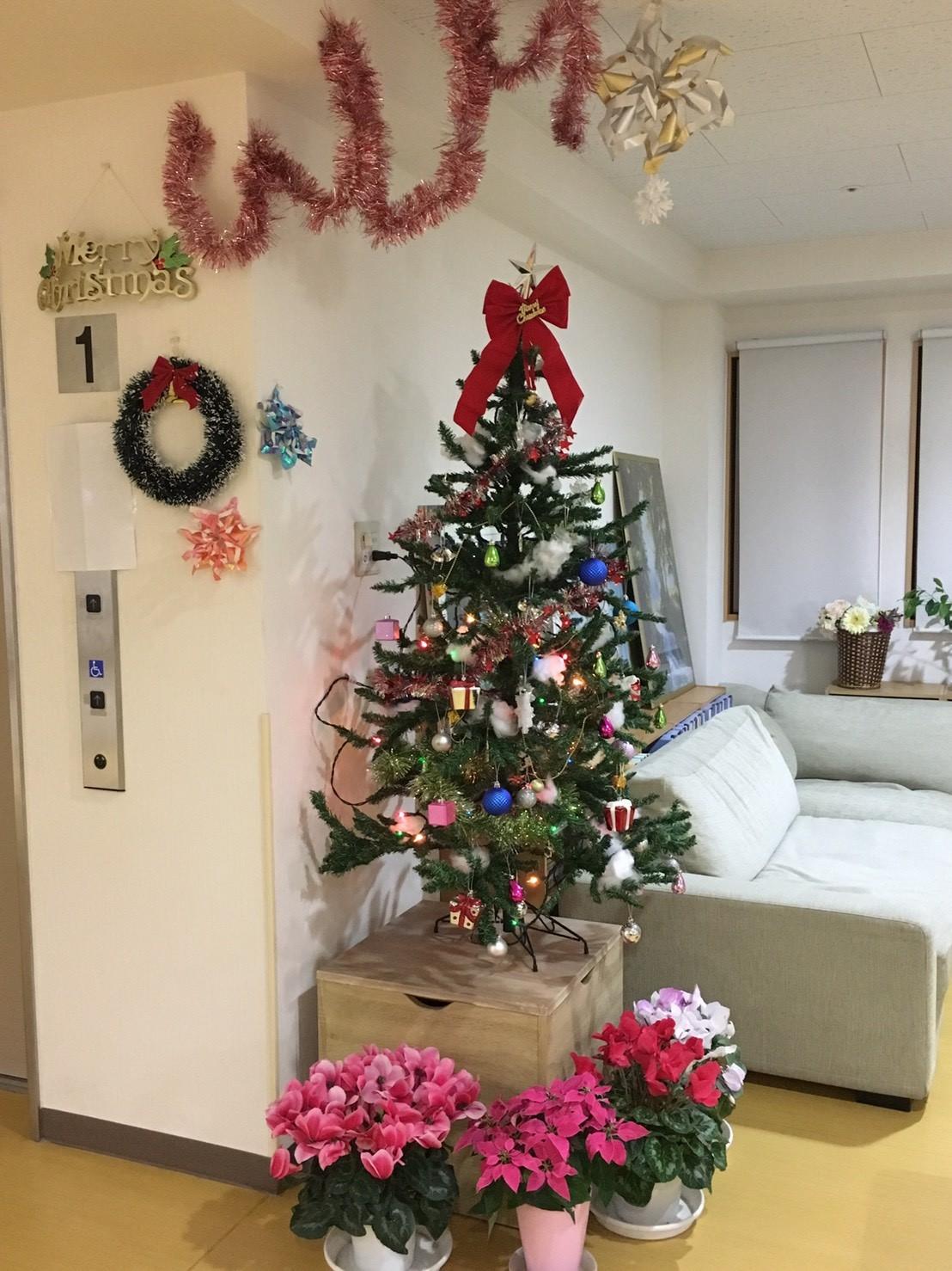 ほのぼの荘熊谷 クリスマスツリー